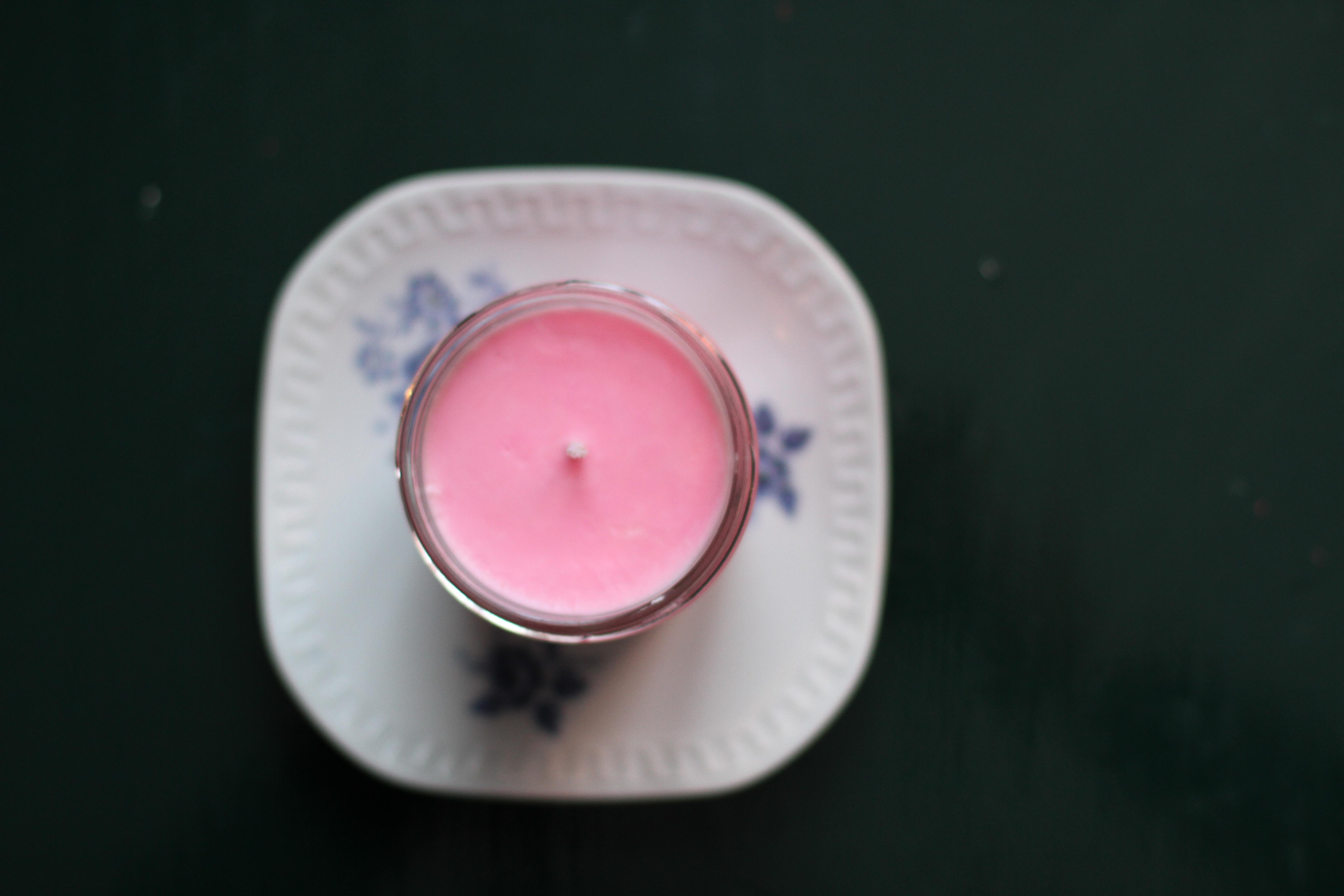 Basinsturktion för tillverkning av doftljus